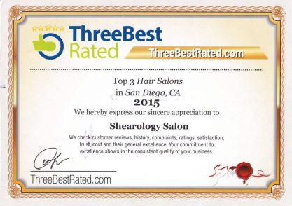 ThreeBestRated Hair Salon San Diego